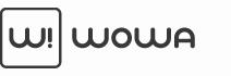 WOW!A fa pénztárcák logó
