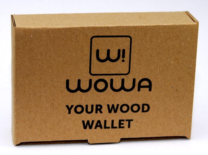 Ajándékdoboz WOWA pénztárcához, termékfotó